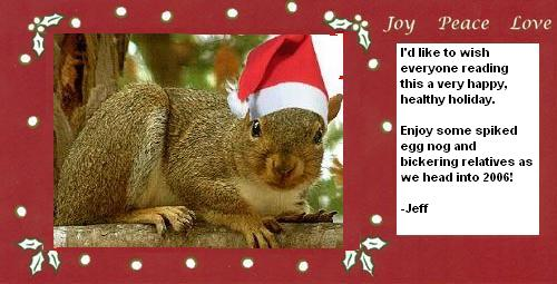 xmas squirrel
